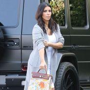 Kim Kardashian fait peindre son sac de luxe par... North West