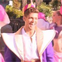 Rayane Bensetti déguisé en génie d'Aladin pour Danse avec les stars