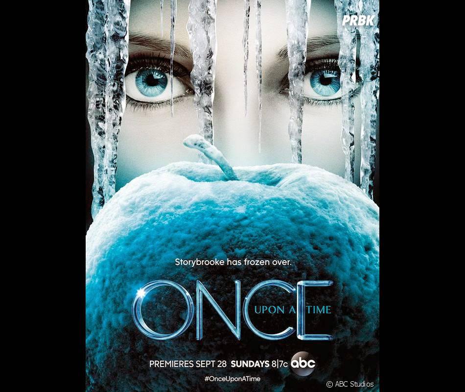 Once Upon a Time saison 4 : La Reine des Neiges sur un poster