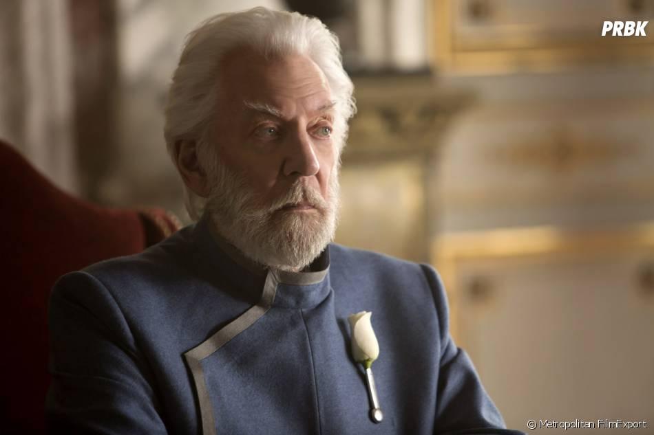 Hunger Games 3 : Donald Sutherland sur une photo