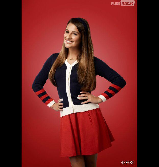 Glee saison 6 : Lea Michele de retour dans la peau de Rachel