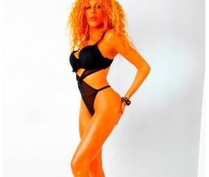 Afida Turner : shooting à moitie nue pour le magazine Entrevue