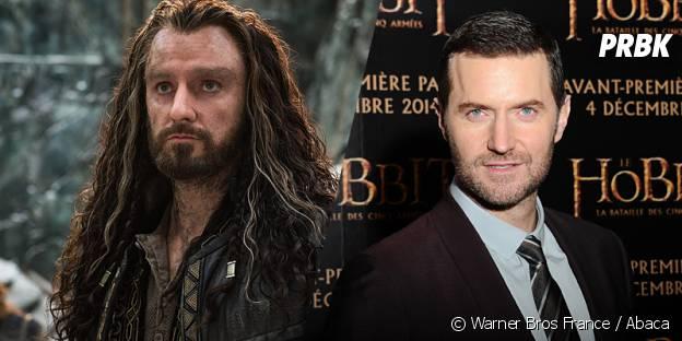 Richard Armitage avant et après sa transformation pour Le Hobbit