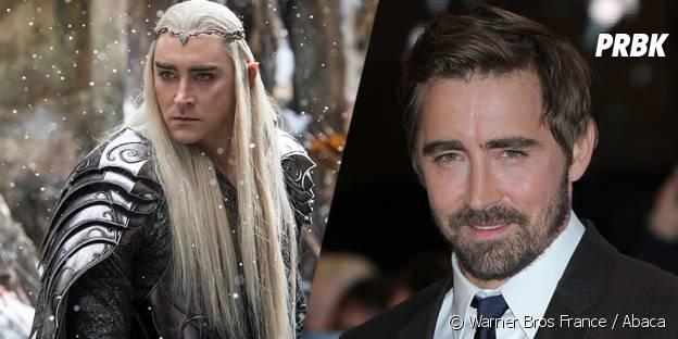 Lee Pace avant et après sa transformation pour Le Hobbit