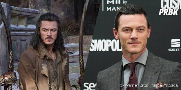 Luke Evans avant et après sa transformation pour Le Hobbit