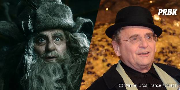 Sylvester McCoy avant et après sa transformation pour Le Hobbit