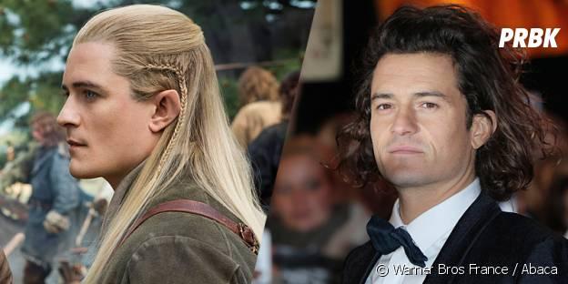 Orlando Bloom avant et après sa transformation pour Le Hobbit