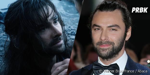 Aidan Turner avant et après sa transformation pour Le Hobbit