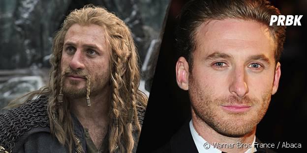 Dean O'Gorman avant et après sa transformation pour Le Hobbit