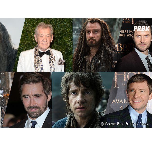 Le Hobbit, la Bataille des Cinq Armées : les transformations des acteurs