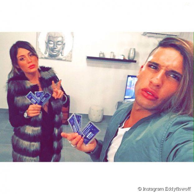 Eddy (Les Anges 6), Anaïs Camizuli et leurs grosses lèvres sur Instagram