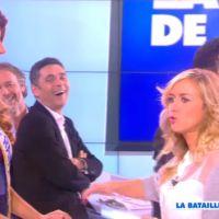 Camille Cerf (Miss France 2015) VS Enora Malagré : bataille de Maroilles dans TPMP