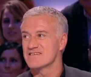 Didier Deschamps sur le plateau du Grand Journal de Canal Plus, le 12 décembre 2014