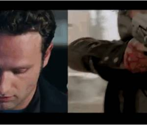 Love Actually : Andrew Lincoln joue Rick Grimes dans Walking Dead