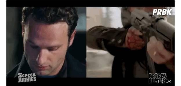 Love Actually : Andrew Lincoln joue Rick Grimes dans Walking Dead