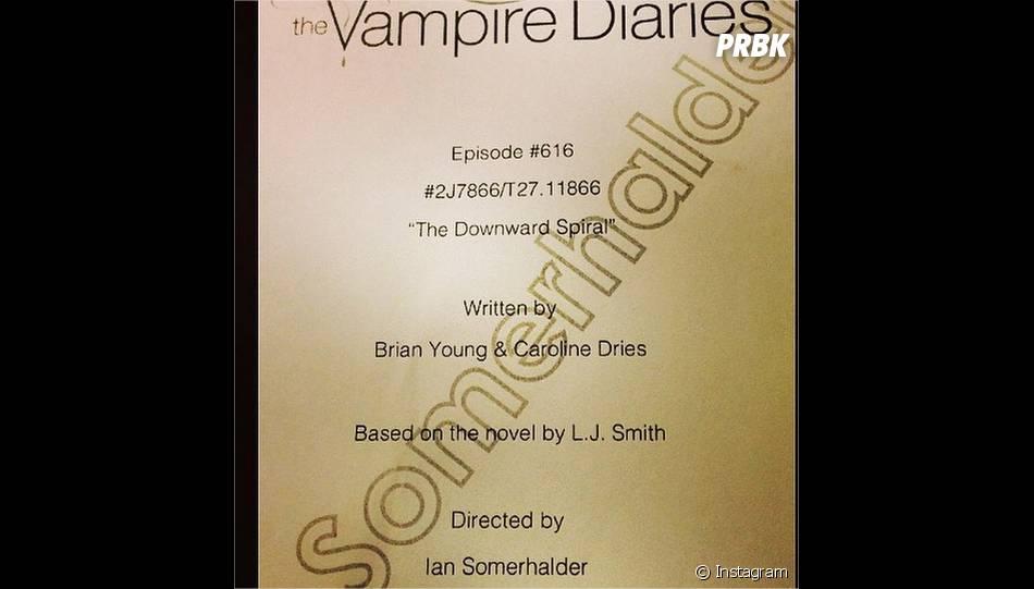 Ian Somerhalder bientôt réalisateur pour la saison 6 de The Vampire Diaries