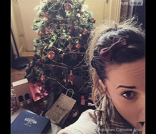 Capucine Anav prépare Noël sur Instagram