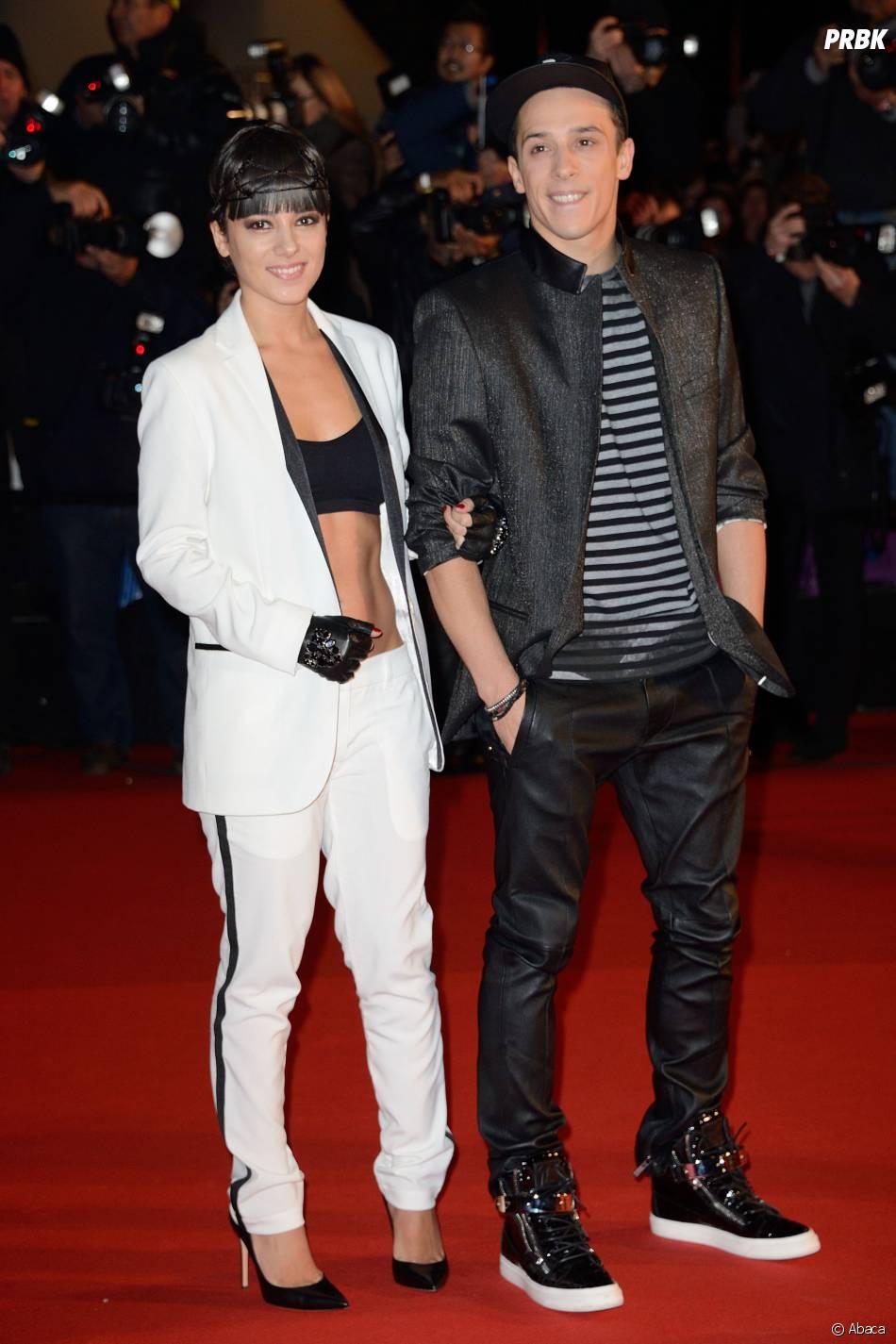 Alizée et Grégoire Lyonnet en couple aux NRJ Music Awards 2014, le 14 décembre 2013 à Cannes