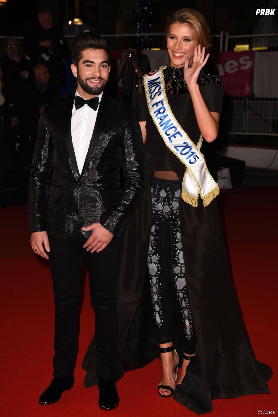 Camille Cerf et Kendi aux NRJ Music Awards 2015