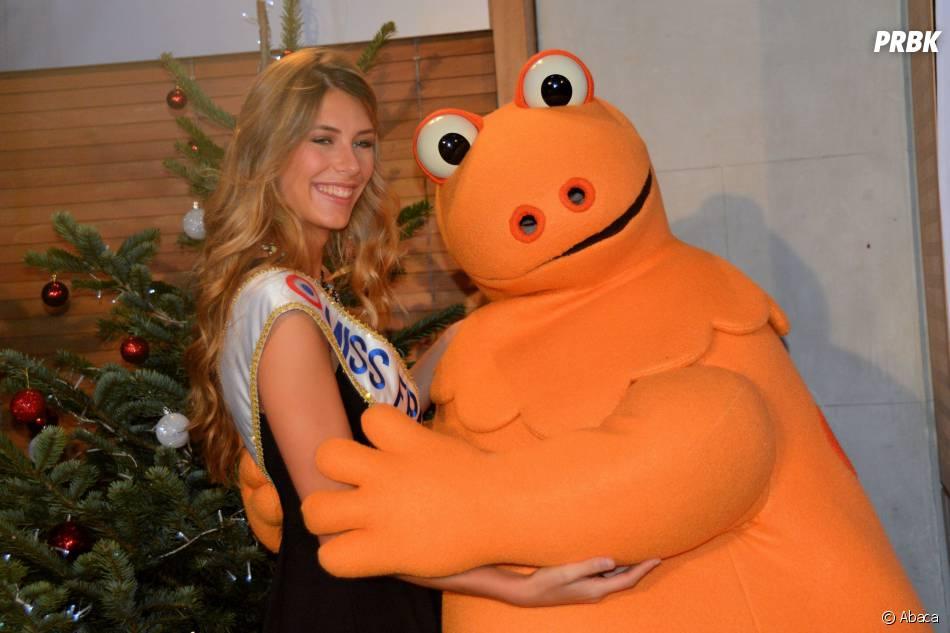 Camille Cerf : même Casimir est fan de notre Miss France 2015