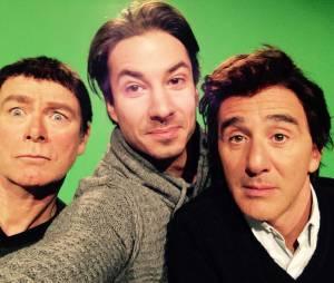 Jérémy Ferrari, Franck Dubosc et Elie Semoun : la photo qui annonce le retour des Petites Annonces ?