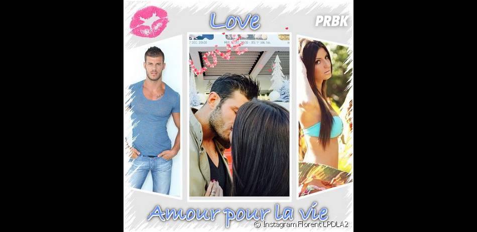 Les Princes de l'amour 2 : Florent Ré en couple et romantique sur Instagram