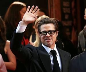 Brad Pitt à l'avant-première mondiale d'Invincible, le 17 novembre 2014 à Sydney