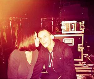 Alizée et Grégoire Lyonnet dans les coulisses de la tournée Danse avec les Stars
