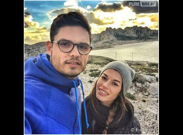 Florent Manaudou et Fanny Skalli en couple sur Instagram, le 19 janvier 2015