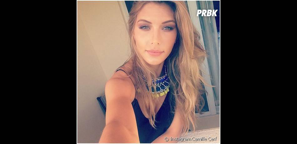 Camille Cerf sublime avant le concours de Miss Univers 2015