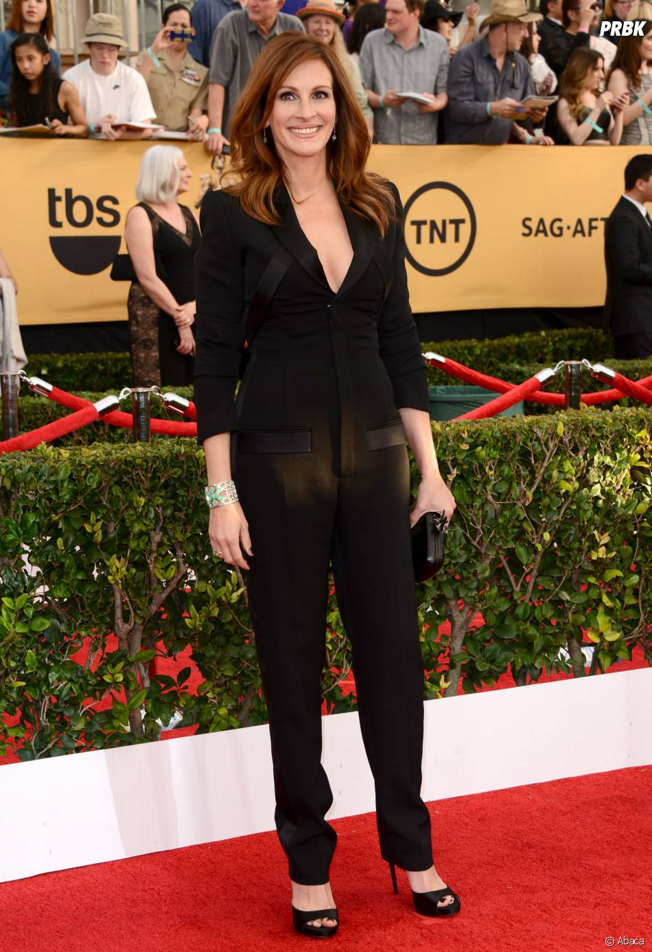 Julia Roberts aux SAG Awards 2015, le 25 janvier 2015 à Los Angeles
