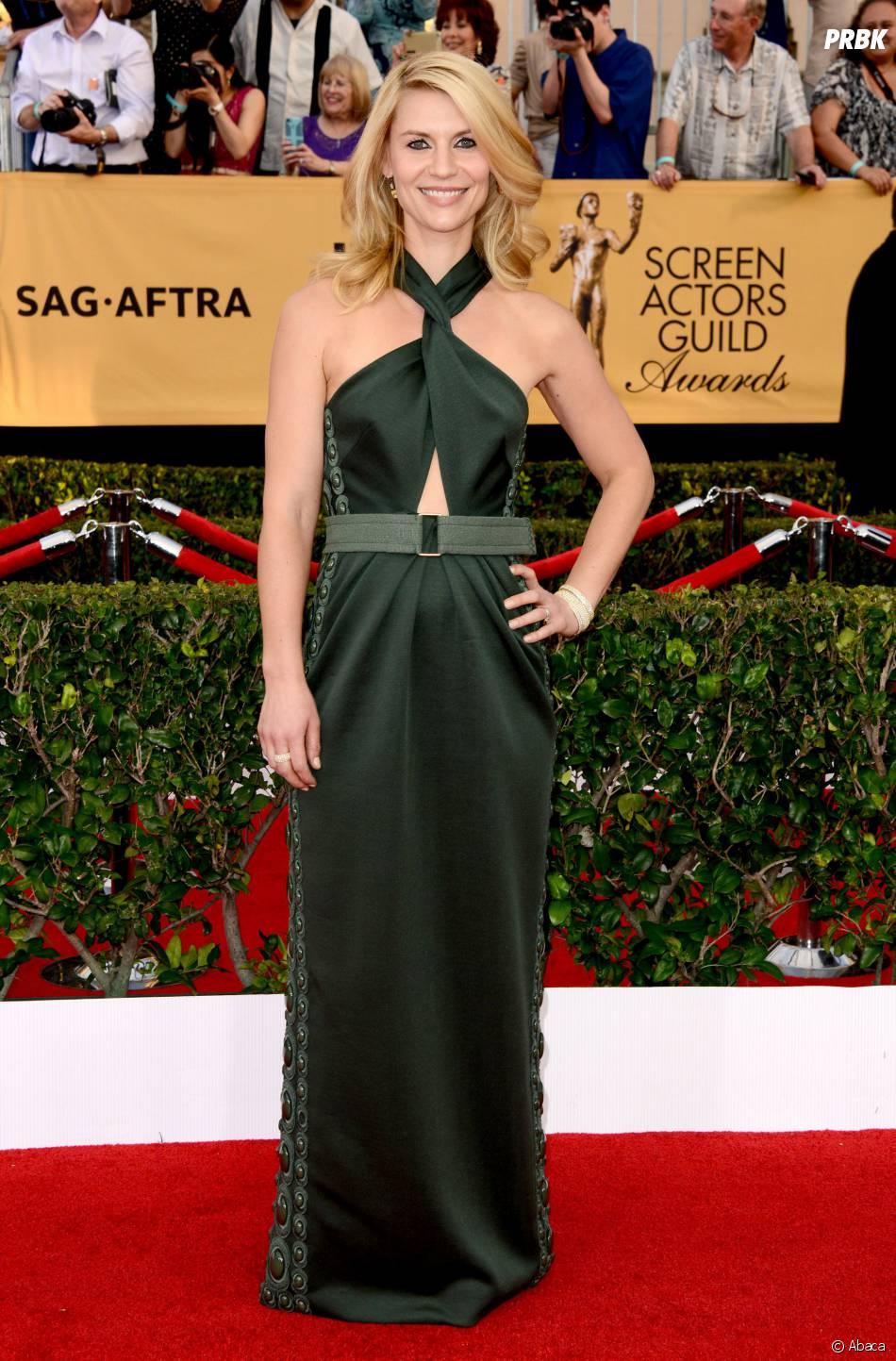 Claire Danes aux SAG Awards 2015, le 25 janvier 2015 à Los Angeles