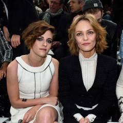 Kristen Stewart blasée, Vanessa Paradis, Kris Jenner sans pantalon... les people au défilé Chanel