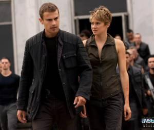 Divergente 2 : Tris (Shailene Woodley) et Quatre (Theo James) sur une photo