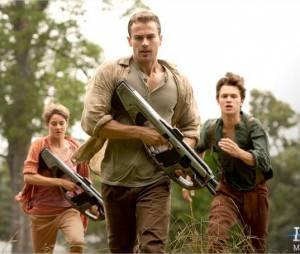 Divergente 2 : Shailene Woodley, Theo James et Ansel Elgort sur une photo
