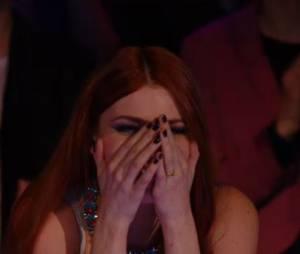 Nouvelle Star 2015 : Elodie Frégé en larmes face à Emji