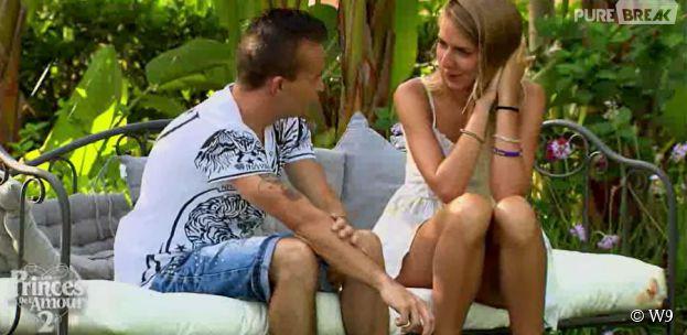 Les Princes de l'amour 2 : Sébastien sous le charme de Stacy dans l'épisode 61 du 30 janvier 2015, sur W9