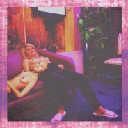 Miley Cyrus et la mannequin Sky Ferreira topless sur Instagram
