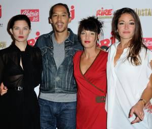 Erika Moulet, Delphine Chanéac, Audrey Tinthoin et Lâm Hua à la rentrée des médias de NRJ 12 le 10 septembre 2014