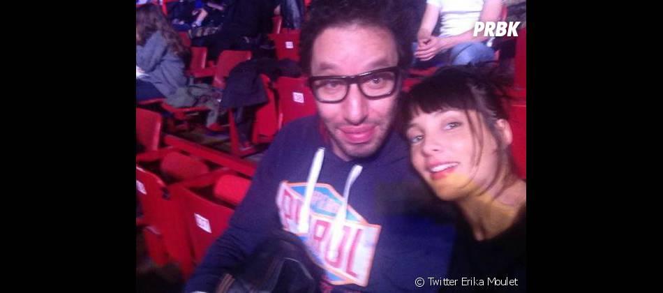 Erika Moulet et Manu Lévy de NRJ