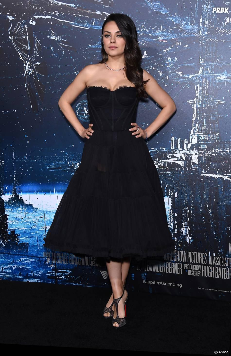 Mila Kunis à l'avant-première de Jupiter Ascending, le 2 février 2015 à Los Angeles