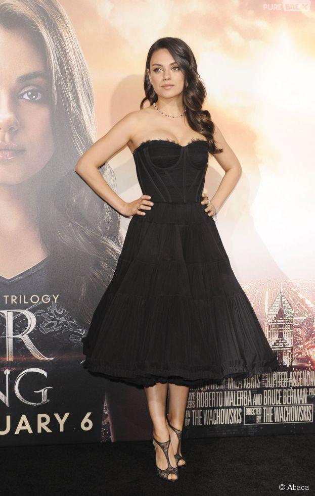 Mila Kunis sublime à l'avant-première de Jupiter Ascending, le 2 février 2015 à Los Angeles