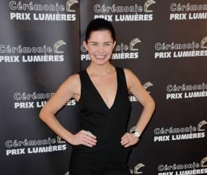 Delphine Chanéac aux Prix Lumières 2015 à Paris le 2 février 2015