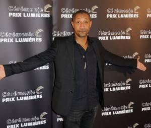 Edouard Montoute aux Prix Lumières 2015 à Paris le 2 février 2015