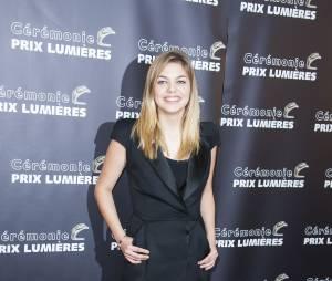 Louane Emera aux Prix Lumières 2015 à Paris le 2 février 2015