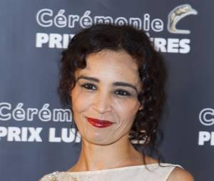 Aida Touihri aux Prix Lumières 2015 à Paris le 2 février 2015