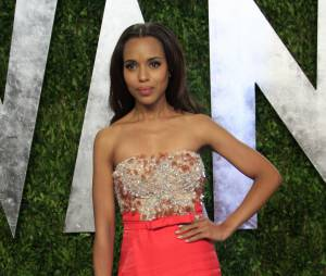 Kerry Washington sublime à la soirée Vanity Fair des Oscars 2013