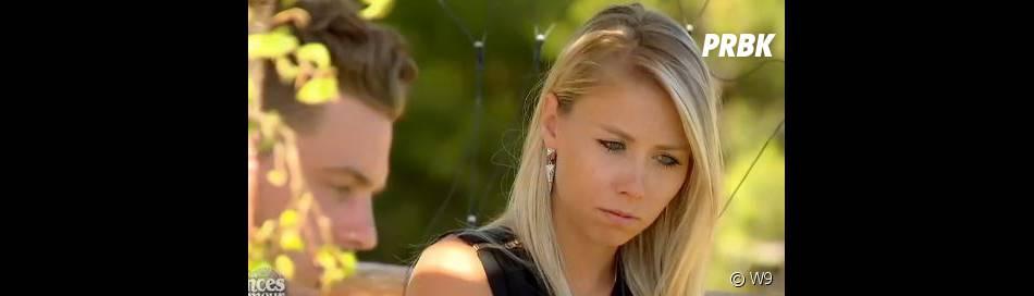 Les Princes de l'amour 2 : Madge effrayée de partir de l'aventure dans l'épisode 65 diffusé le 6 février 2015, sur W9