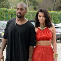 Kim Kardashian sexy avec ses cheveux courts au bras de Kanye West