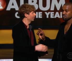 Kanye West fait le buzz aux Grammy Awards 2015